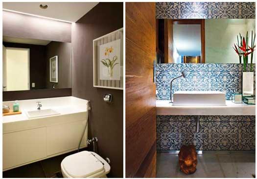 decoracao lavabos fotos: do seu lavabo, como a Casa e Jardim, a Avril ou o portal UOL Mulher