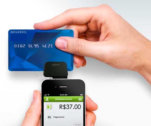 GO PAY - PAGAMENTO COM CARTÃO DE CRÉDITO VIA CELULAR E TABLETS - WWW.GOPAY.COM.BR