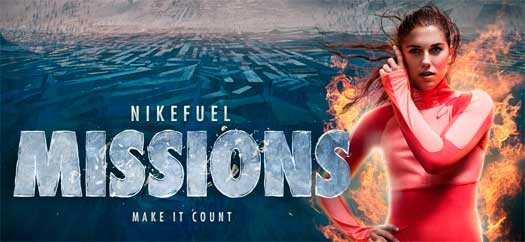 NIKEFUEL MISSIONS - JOGO DA NIKE COM EXERCÍCIOS FISICOS