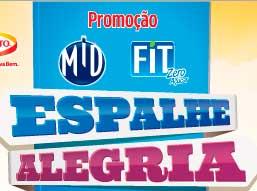 PROMOÇÃO MID & FIT 2013 ESPALHE ALEGRIA
