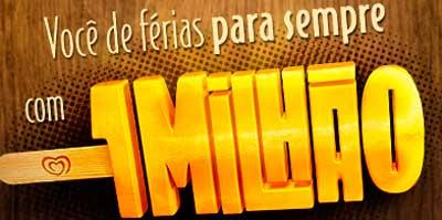 PROMOÇÃO VOCÊ DE FÉRIAS PARA SEMPRE COM 1 MILHÃO - FACEBOOK.COM/FRUTTAREBR