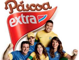 WWW.FAMILIAEXTRA.COM.BR/PASCOA2013 - PROMOÇÃO FAMÍLIA, RONALDO E SELEÇÃO - PÁSCOA EXTRA
