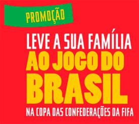 PROMOÇÃO LEVE SUA FAMÍLIA AO JOGO DO BRASIL - PROMOCAOJOGODOBRASIL.COCACOLA.COM.BR