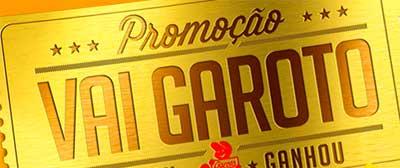 PROMOÇÃO VAI GAROTO - FACEBOOK.COM/GAROTO - CHOCOLATE PREMIADO