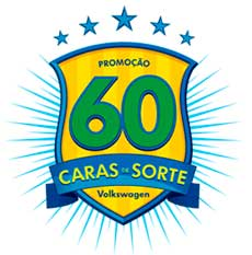 VW.COM.BR/60CARAS - PROMOÇÃO VOLKSWAGEN 60 CARAS DE SORTE