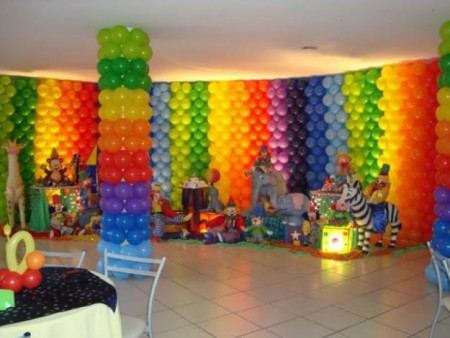 COMO DECORAR FESTA DE ANIVERSARIO INFANTIL
