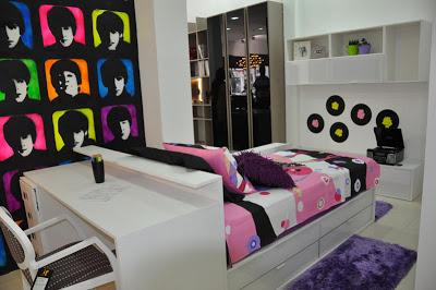 Decoração de quartos pequenos femininos para jovens