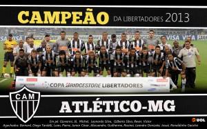 PÔSTER ATLÉTICO-MG CAMPEÃO DA LIBERTADORES 2013