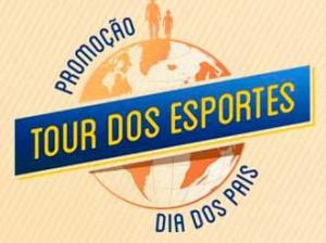 PROMOÇÃO DIA DOS PAIS NETSHOES TOUR DOS ESPORTES