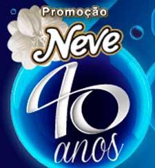 WWW.NEVE40ANOS.COM.BR - PROMOÇÃO NEVE 40 ANOS