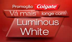 PROMOÇÃO COLGATE LUMINOUS WHITE