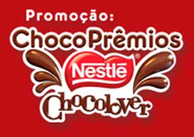 WWW.CHOCOPREMIOSCHOCOLOVER.COM.BR - PROMOÇÃO CHOCOPRÊMIOS NESTLÉ CHOCOLOVER