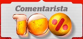WWW.COMENTARISTA100PORCENTO.COM.BR - PROMOÇÃO COMENTARISTA 100% ITAIPAVA