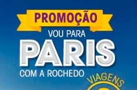 PROMOÇÃO VOU PARA PARIS COM A ROCHEDO - WWW.ROCHEDO.COM.BR/PROMOCAO100ANOS
