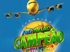 WWW.PGAVIAOCAMPEAO.COM.BR - PROMOÇÃO AVIÃO CAMPEÃO DO FAUSTÃO P&G - CADASTRAR