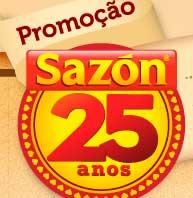 WWW.SAZON25ANOS.COM.BR - PROMOÇÃO SAZON 25 ANOS O MAPA DAS POSSIBILIDADES