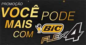 WWW.BICBARBA.COM.BR - PROMOÇÃO VOCÊ PODE MAIS COM BIC FLEX 4