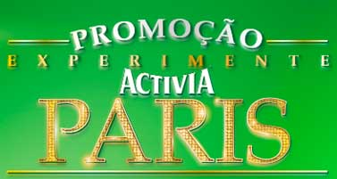 WWW.PROMOCAOACTIVIA.COM.BR - PROMOÇÃO EXPERIMENTE ACTIVIA PARIS