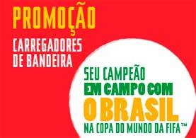 PROMOÇÃO COCA-COLA CARREGADORES DE BANDEIRA