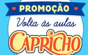 WWW.VOLTAASAULASCAPRICHO.COM.BR - PROMOÇÃO VOLTA ÀS AULAS CAPRICHO