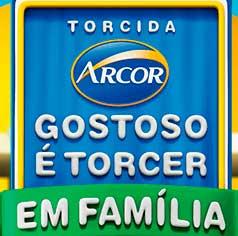 WWW.PROMOARCOR.COM.BR - PROMOÇÃO ARCOR GOSTOSO É TORCER EM FAMÍLIA