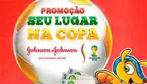 WWW.SEULUGARNACOPA.COM.BR - PROMOÇÃO SEU LUGAR NA COPA JOHNSON & JOHNSON