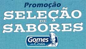 WWW.SELECAOGOMESDACOSTA.COM.BR - PROMOÇÃO SELEÇÃO DE SABORES GOMES DA COSTA, CADASTRAR