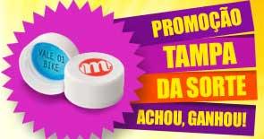 WWW.TAMPADASORTE.COM.BR - PROMOÇÃO TAMPA DA SORTE - ACHOU, GANHOU