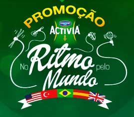WWW.ACTIVIANORITMO.COM.BR - PROMOÇÃO ACTIVIA 2014 NO RITMO PELO MUNDO, CADASTRAR