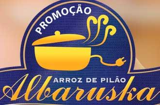 WWW.PROMOCAOALBARUSKA.COM.BR - PROMOÇÃO ARROZ DE PILÃO ALBARUSKA RECEITA PREMIADA