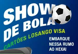 WWW.SHOWDEBOLALOSANGO.COM.BR - PROMOÇÃO SHOW DE BOLA CARTÕES LOSANGO