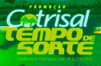 PROMOÇÃO COTRISAL 2014 TEMPO DE SORTE