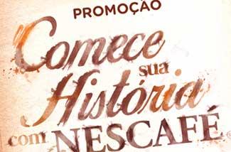 WWW.COMECESUAHISTORIA.COM.BR - PROMOÇÃO COMECE SUA HISTÓRIA COM NESCAFÉ, CADASTRAR