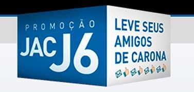 PROMOÇÃO JAC J6 LEVE SEUS AMIGOS DE CARONA