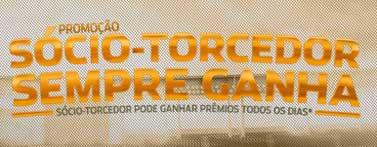 PROMOÇÃO SÓCIO TORCEDOR SEMPRE GANHA
