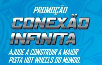WWW.HOTWHEELS.COM.BR/CONEXAOINFINITA - PROMOÇÃO HOTWHEELS CONEXÃO INFINITA
