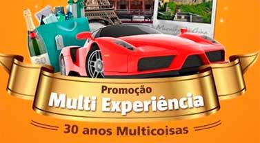 PROMOÇÃO MULTI EXPERIÊNCIA, 30 ANOS MULTICOISAS