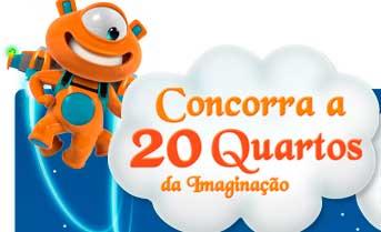 WWW.PBKIDS.COM.BR - PROMOÇÃO PBKIDS 20 QUARTOS DA IMAGINAÇÃO