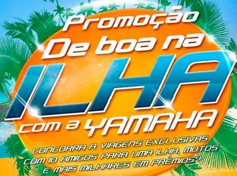 WWW.YAMAHADEBOANAILHA.COM.BR - PROMOÇÃO DE BOA NA ILHA COM YAMAHA