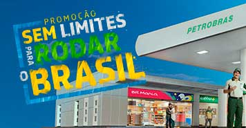 PROMOÇÃO SEM LIMITES PARA RODAR O BRASIL, PETROBRAS PREMMIA