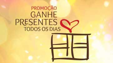 WWW.BOTICARIO.COM.BR/GANHEPRESENTES - PROMOÇÃO GANHE PRESENTES TODOS OS DIAS COM O BOTICÁRIO
