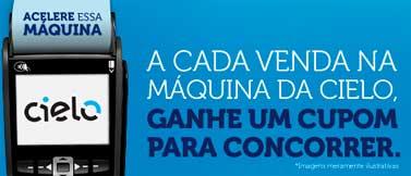 WWW.ACELEREESSAMAQUINA.COM.BR - PROMOÇÃO CIELO ACELERE ESSA MÁQUINA
