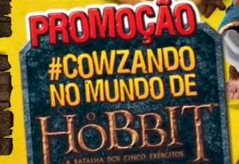 PROMOÇÃO #COWZANDO NO MUNDO DE O HOBBIT