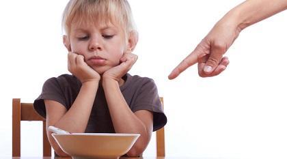 Como acabar com a manha de criancas para comer