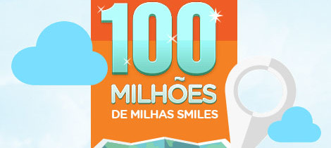 WWW.100MILHOESDEMILHAS.COM.BR - PROMOÇÃO MILHAS DO SMILES DA GOL LINHAS AÉREAS