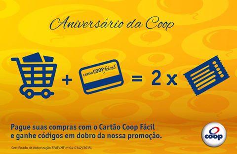 WWW.COOPMEUCARRINHOMEUCARRAO.COM.BR - PROMOÇÃO MEU CARRINHO MEU CARRÃO ANIVERSÁRIO COOP 2015