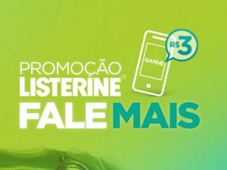 PROMOÇÃO LISTERINE FALE MAIS - WWW.LISTERINE.COM.BR